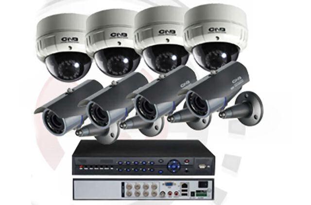 Комплект видеокамери + DVR