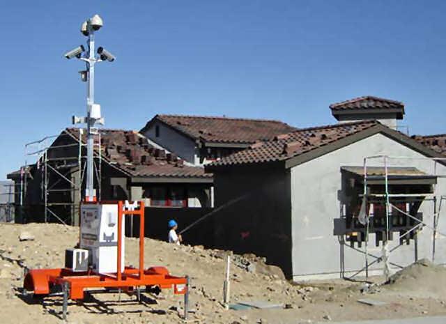 Видеонаблюдение по време на строителството
