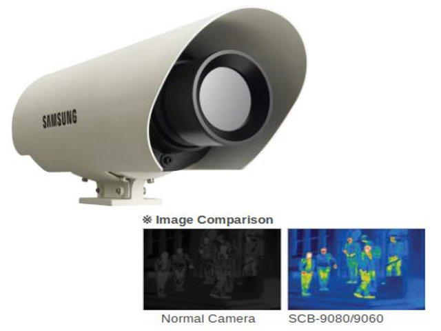 Термовизионна, инфрачервена видеокамера за видеонаблюдение