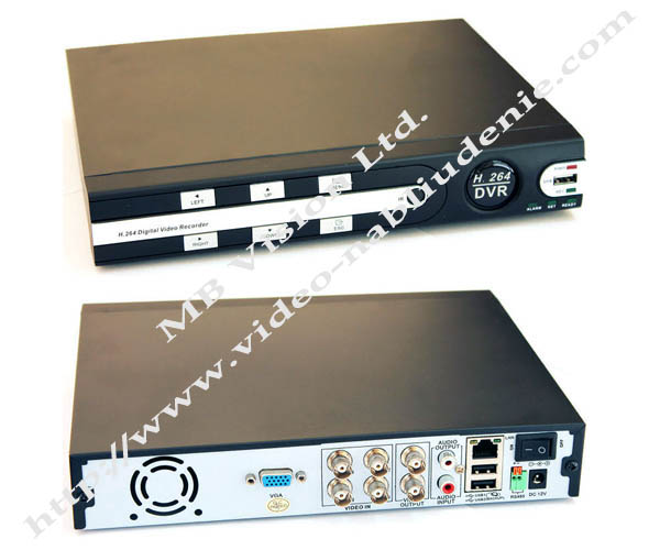 DVR рекордер, 4 канален, MBR6104
