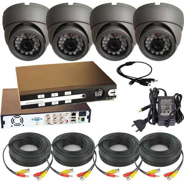 Готова система за видеонаблюдение