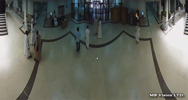 Широкоъгълна ИП камера